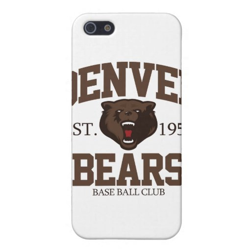 Denver Bears iPhone 5 Covers