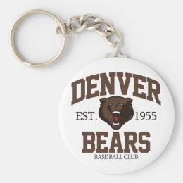Denver Bears Keychain