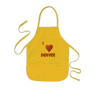 Denver -- Borgoña Delantal Infantil