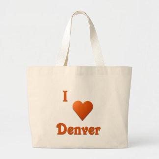 Denver -- Burnt Orange Canvas Bag