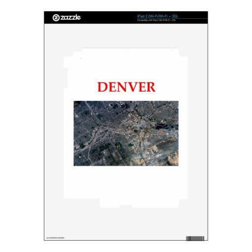 Denver Calcomanía Para iPad 2