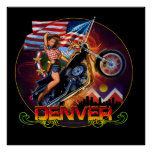 Denver Choppers Poster