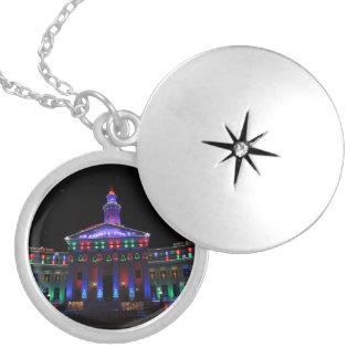 Denver Christmas Lights Necklace