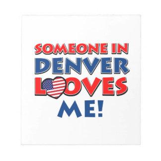 Denver City Designs Note Pads