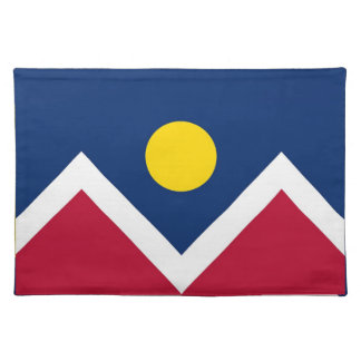 Denver City Flag American MoJo Placemat