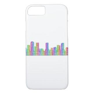 Denver city skyline iPhone 8/7 case