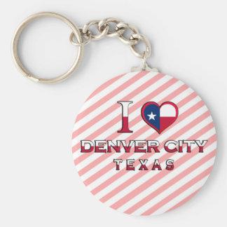 Denver City, Texas Keychains