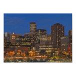 """Denver Cityscape 5"""" X 7"""" Invitation Card"""