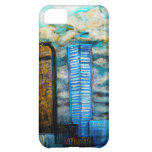 Denver Cityscape, Art Case for the iphone iPhone 5C Cases