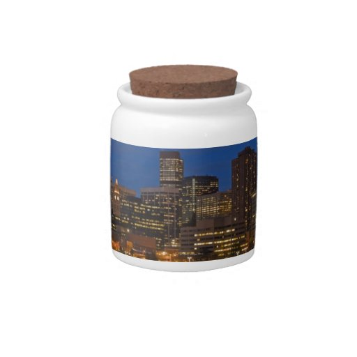Denver Cityscape Candy Jar