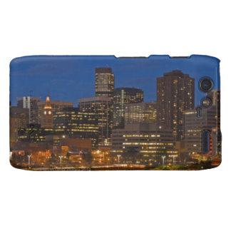Denver Cityscape Droid RAZR Covers
