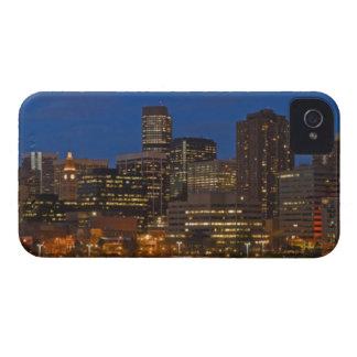 Denver Cityscape iPhone 4 Case