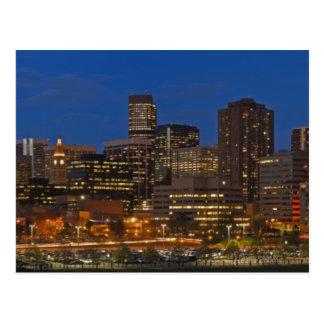 Denver Cityscape Postcard