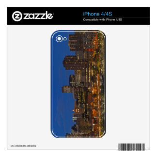 Denver Cityscape Decal For The iPhone 4