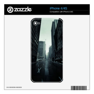 Denver Cityscape iPhone 4S Decal