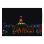 Denver Civic Center Holiday Lights - New Style Greeting Cards