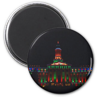 Denver Civic Center Holiday Lights - New Style Magnet