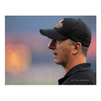 DENVER, CO - 16 DE JULIO:  Primer entrenador Tim Tarjeta Postal