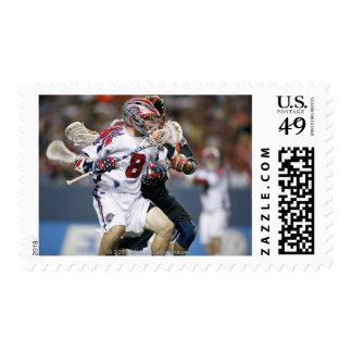 DENVER, CO - 3 DE JULIO: Greg que traga #8 Sello Postal