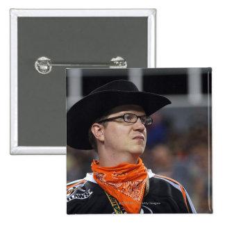 DENVER, CO - 3 DE JULIO: Una Denver proscribe la f Pin Cuadrada 5 Cm