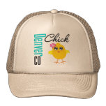 Denver CO Chick Trucker Hat