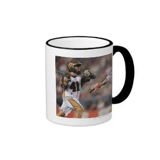 DENVER, CO - JULY 16:  Brian Caufield #41 Ringer Mug