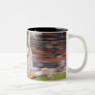 DENVER, CO - JULY 16:  Dan Groot #8 Two-Tone Coffee Mug