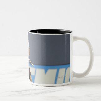 DENVER, CO - JULY 16:  Dillon Roy #91 Two-Tone Coffee Mug