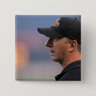 DENVER, CO - JULY 16:  Head coach Tim Soudan Button