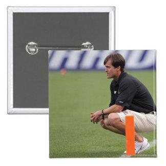 DENVER, CO - JULY 16:  Head coach Tom Slate 2 Button