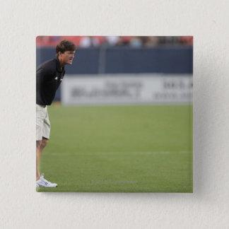 DENVER, CO - JULY 16:  Head coach Tom Slate 3 Pinback Button