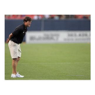 DENVER, CO - JULY 16:  Head coach Tom Slate 3 Postcard