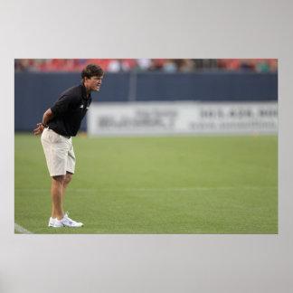 DENVER, CO - JULY 16:  Head coach Tom Slate 3 Poster