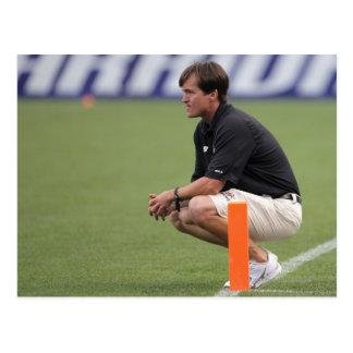 DENVER, CO - JULY 16:  Head coach Tom Slate Postcard