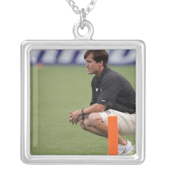 DENVER, CO - JULY 16:  Head coach Tom Slate Silver Plated Necklace