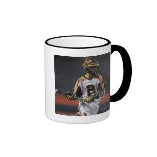 DENVER, CO - JULY 16:  Ned Crotty #2 Ringer Mug