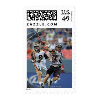 DENVER, CO - JULY 16:  Peet Poillon #57 2 Postage Stamps