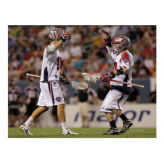 DENVER, CO - JULY 30:  Brad Ross #10 and Max Postcard