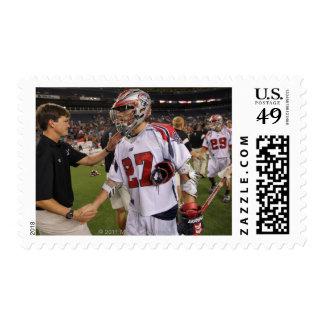 DENVER, CO - JULY 30:  Kevin Buchanan #27 Postage Stamp