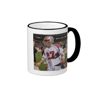 DENVER, CO - JULY 30:  Kevin Buchanan #27 Ringer Coffee Mug