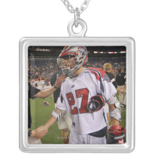 DENVER, CO - JULY 30:  Kevin Buchanan #27 Silver Plated Necklace
