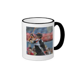 DENVER, CO - JULY 30:  Matt Bocklet #7 3 Ringer Mug