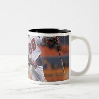 DENVER, CO - JULY 30:  Max Quinzani #88 Two-Tone Coffee Mug