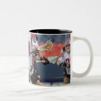 DENVER, CO - JULY 30:  Paul Rabil #99 2 Two-Tone Coffee Mug