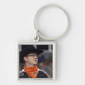 DENVER, CO - JULY 3: A Denver Outlaws fan didn't Keychain