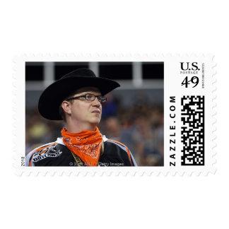 DENVER, CO - JULY 3: A Denver Outlaws fan didn't Postage