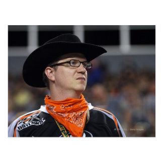 DENVER, CO - JULY 3: A Denver Outlaws fan didn't Postcard