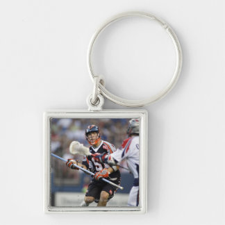 DENVER, CO - JULY 3: Dillon Roy #91 Silver-Colored Square Keychain