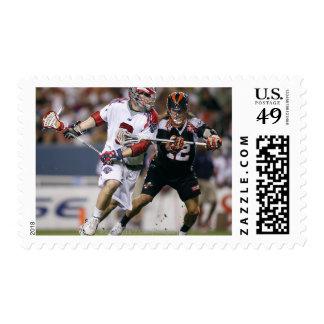 DENVER, CO - JULY 3: Jarett Park #12 3 Stamp