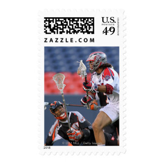 DENVER, CO - JULY 3: Nate Watkins #35 2 Stamps